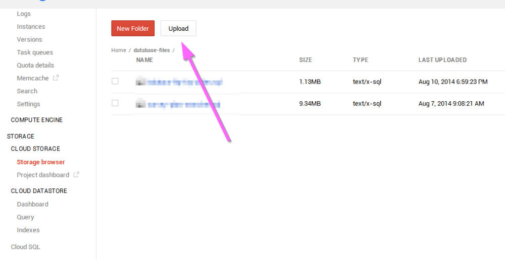 Google Cloud SQL - How to import an existing database (3/6)