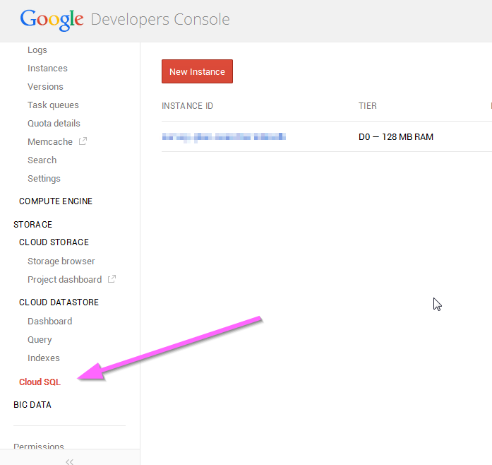 Google Cloud SQL - How to import an existing database (4/6)